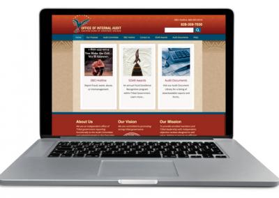 Cherokee Office of Internal Audit Website - Insight Marketing
