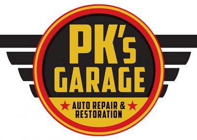 PKS Garage Logo by Insight Marketing