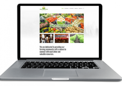 Swain County Farmers Web Design - Insight Marketing