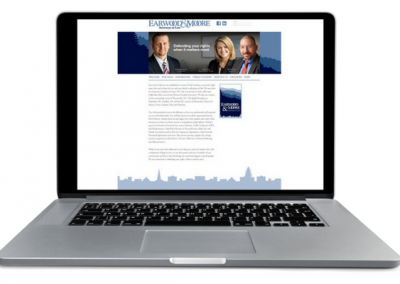 Attorney Law Web Design - Insight Marketing