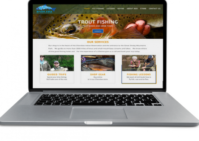 Fly Fishing Outfitter- Web Site - Insight Marketing