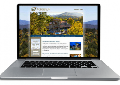 Golf Resort Web design - Insight Marketing