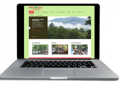 Holly Cove RV Resort Web Design - Insight Marketing
