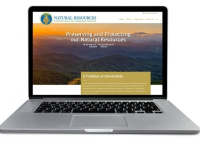 Tribal website for Natural resources