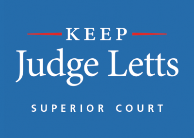 Judge Letts Superior Court Judge